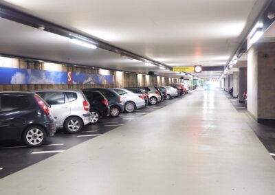 Parkhaus- und Tiefgaragenreinigung